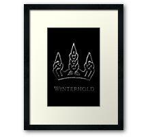 Winterhold Framed Print