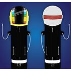 Daft Punk by SuperLombrices