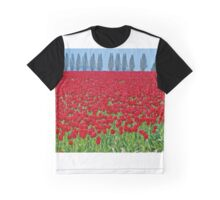 Spring in Skagit Valley Graphic T-Shirt