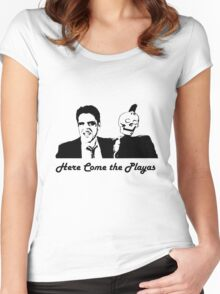 Here Come the Playas 2! Women's Fitted Scoop T-Shirt
