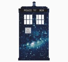 Blue box.... IN SPACE! by nicwise