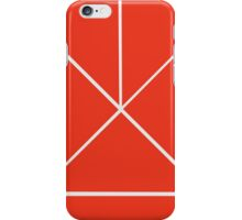 Hour Glass - Red iPhone Case/Skin