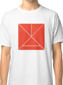 Hour Glass - Red Classic T-Shirt