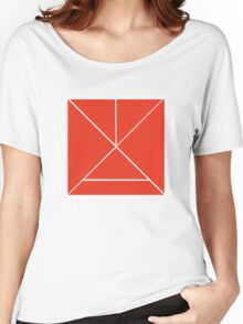 Hour Glass - Red Women's Relaxed Fit T-Shirt