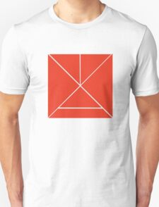 Hour Glass - Red Unisex T-Shirt