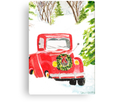 Home For Christmas Canvas Print