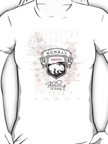 Wombat - Harry Potter Exams T-Shirt