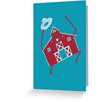 Barn dance Greeting Card