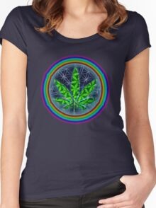 aWEARness clothing - Hemp Of Life Women's Fitted Scoop T-Shirt