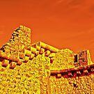 900 + old walls - Peyrepertuse by globeboater