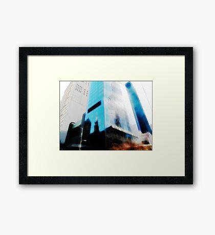 Millennium Hilton Framed Print