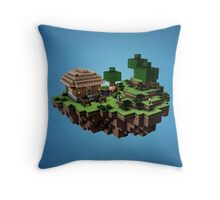 Minecraft Land Throw Pillow
