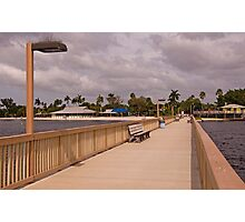 A Walk on the Boardwalk Photographic Print