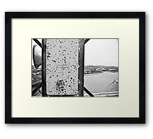 Isolate Supply Framed Print