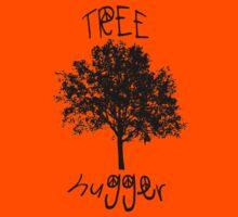 Tree Hugger Peace Kids Tee