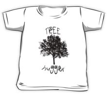 Tree Hugger Peace Kids Tee