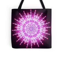 Super Charged Snowflake Tote Bag
