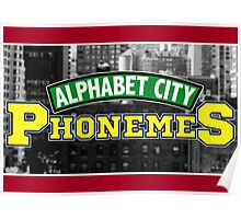 Alphabet City Phonemes Poster