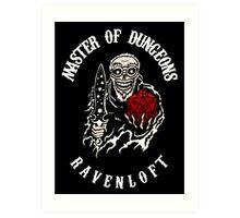 Master of Dungeons - Ravenloft Art Print