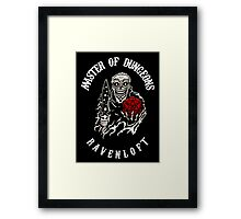 Master of Dungeons - Ravenloft Framed Print