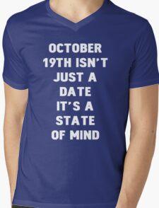 October 19th Mens V-Neck T-Shirt
