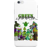 Green Lives Matter iPhone Case/Skin