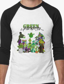 Green Lives Matter Men's Baseball ¾ T-Shirt