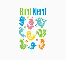 Bird Nerd - white Unisex T-Shirt