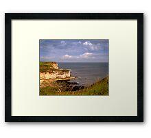 From Flamborough Head, Yorkshire Framed Print