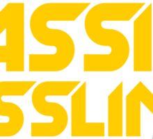 Massive Basslines (Yellow) Sticker