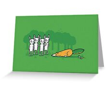 A clever disguise Greeting Card