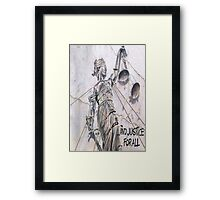 ... And Justice For All! Framed Print
