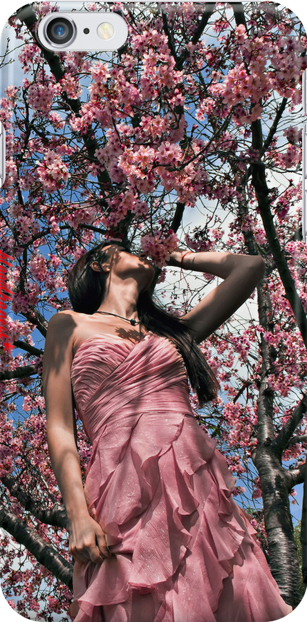 """the cherry blossom girl"" - iphone 4 & iphone 4s & iphone 5 case by harun mehmedinovic"