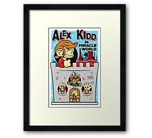 Alex Kidd in Miracle World Framed Print