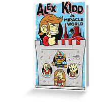 Alex Kidd in Miracle World Greeting Card