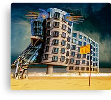 Bates Motel by the Sea. Canvas Print