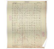 USGS Topo Map Washington State WA Winchester 244747 1910 62500 Poster