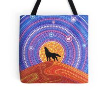 Night of the Wandering Wolf Tote Bag