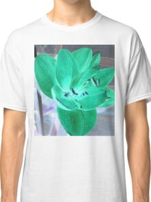 Green Amaryllis Classic T-Shirt