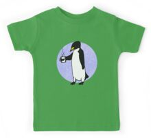 Penguin At Work Kids Tee
