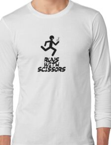 Runs with scissors Long Sleeve T-Shirt