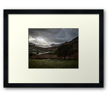 Ray of Light Framed Print