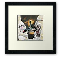 Woman in a Bowler Hat Framed Print