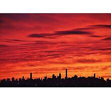 New York City Dusk  Photographic Print