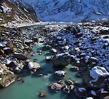 Hooker Valley by Jocelyn  Parry-Jones