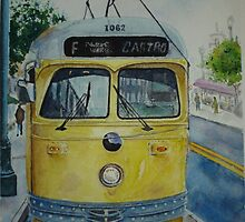 San Francisco F Line by jadlart