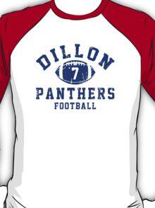 Dillon Panthers Football - 7 Gray T-Shirt