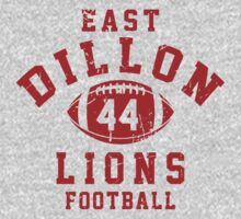 East Dillon Lions Football - 44 Gray T-Shirt