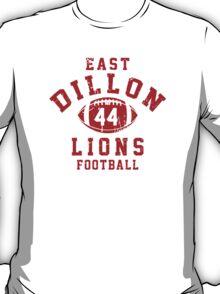 East Dillon Lions Football - 44 Gray T-Shirt
