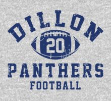 Dillon Panthers Football - 20 Gray by Stucko23